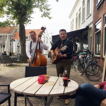 akoestisch duo in het café / horeca