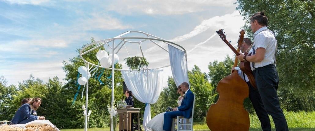 bruiloftmuziek live muziek huwelijk